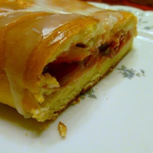 Recipe for Cherry Danish Loaves