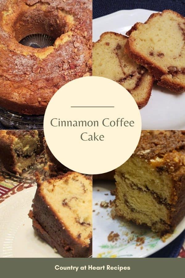 Pinterest Pin - Cinnamon Coffee Cake