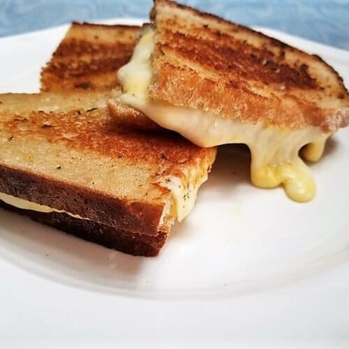Recipe for Gourmet Grilled Cheese Sandwiches