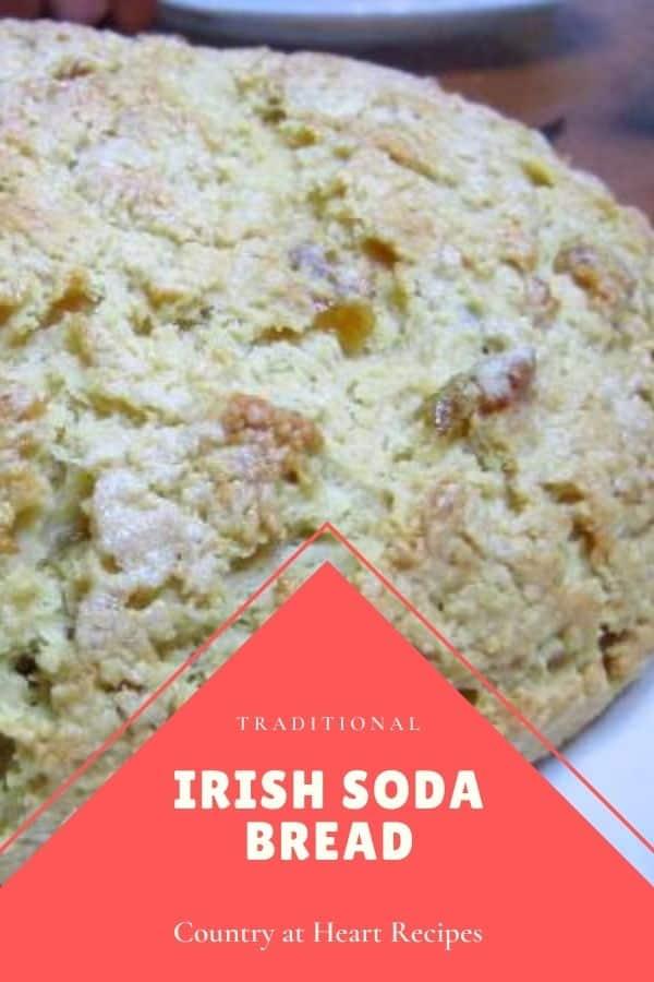 Pinterest Pin - Irish Soda Bread
