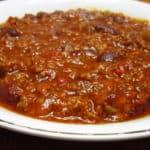 Recipe for Thick Venison Chili
