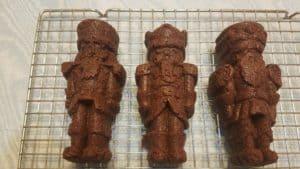 Chocolate Fudge Brownie Nutcrackers - Nordic Ware Pans