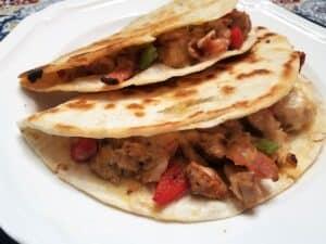 Recipe for Chicken Quesadillas