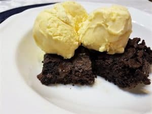 Recipe for Chewy Chocolate Fudge Brownies