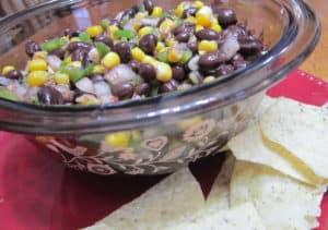 Recipe for Black Bean Salsa