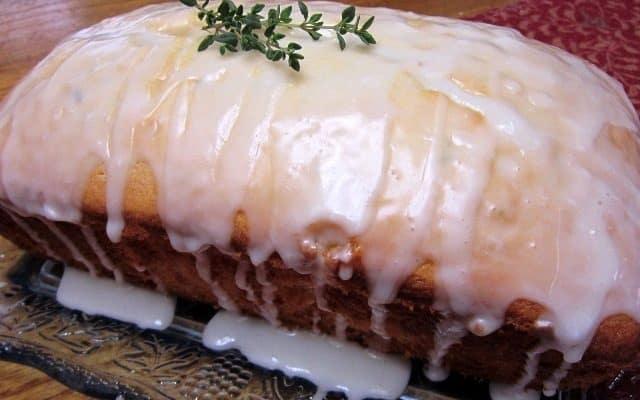 Lemon-Thyme Pound Cake