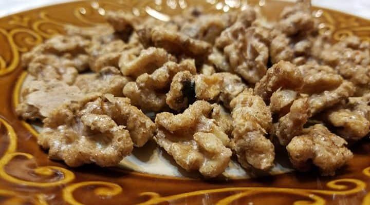 Glazed English Walnuts