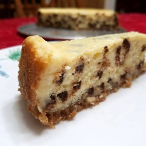 Recipe for Chocolate Chip Cheesecake