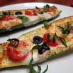 Recipe for Baked Italian Zucchini Boats