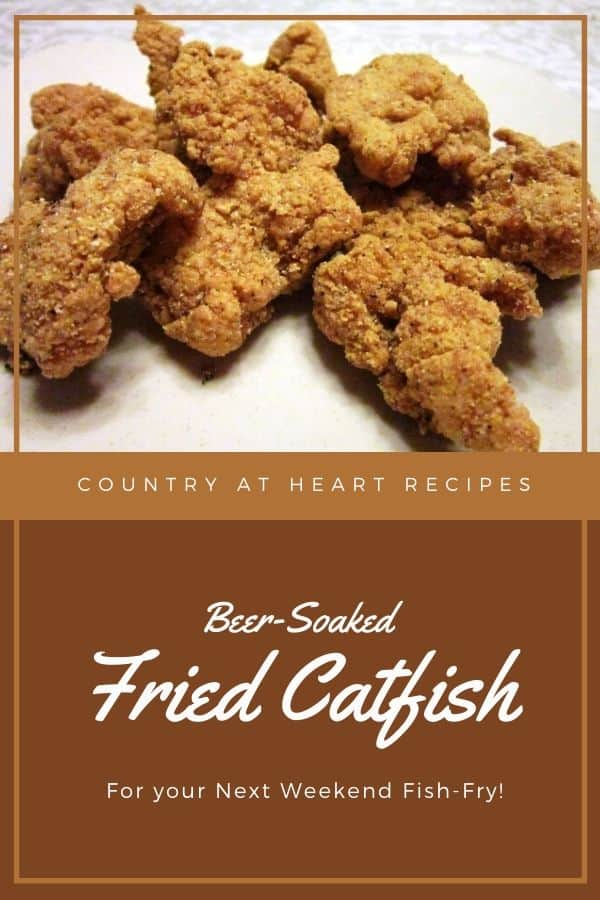 Pinterest Pin - Fried Catfish