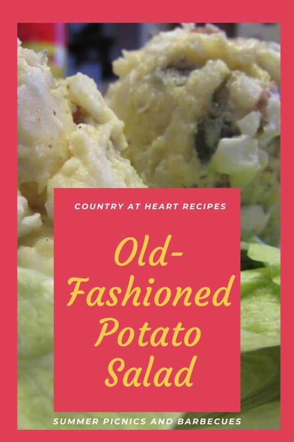 Pinterest Pin - Potato Salad