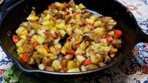 Cast Iron Skillet - Fried Potatoes