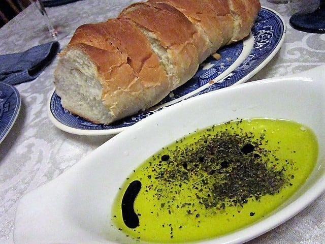 French Bread with Dipping Oil