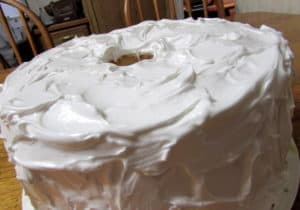 Angel Food Cake with 7-Minute Frosting