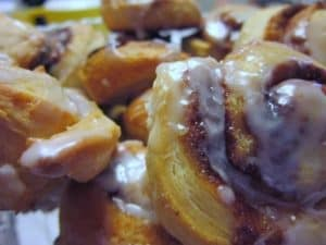 recipe for Easy Cinnamon Roll Twists