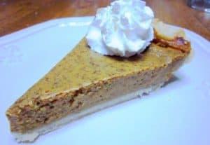 Recipe for Traditional Pumpkin Pie - Thanksgiving Dinner Ideas