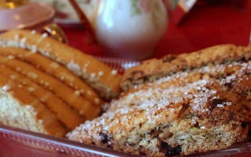 Cherry Pistachio Biscotti Cookies