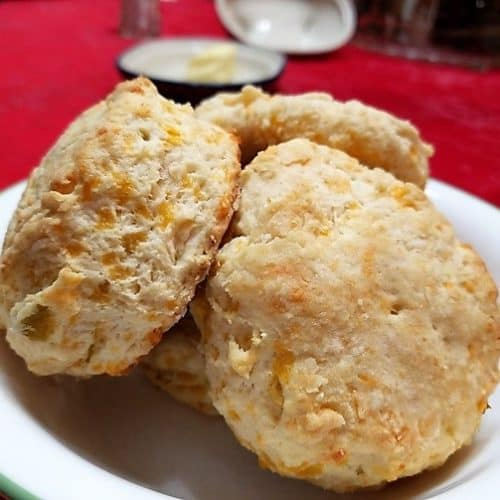 Recipe for Savory Southwest Biscuits