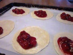 Making Cherry Turnovers