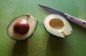 Cutting an Avocado - Guacamole Dip