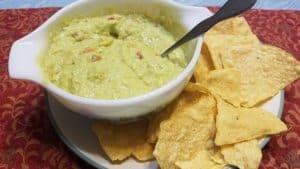 Recipe for Guacamole Dip