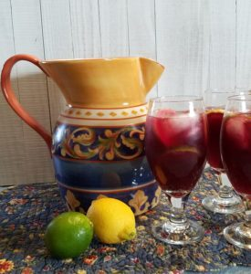 pitcher for red wine sangria