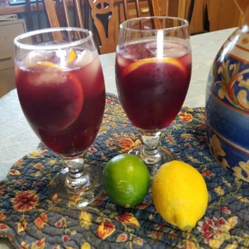 Recipe for Red Wine Sangria
