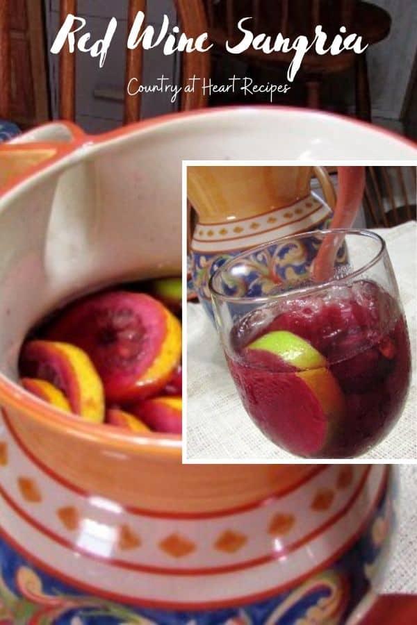 Pinterest Pin - Red Wine Sangria