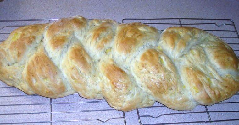 Braided Squash Bread