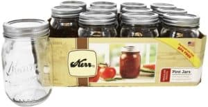 Kerr Canning Jars for Pickled Beets