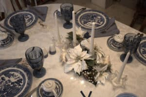 My Christmas Eve Table