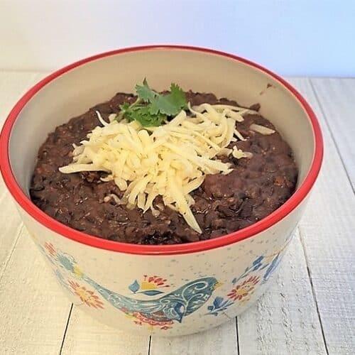 Recipe for Refried Black Beans