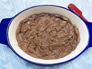 Brownie Cake Portion of this Recipe