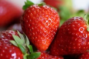 Ripe Fresh Strawberries