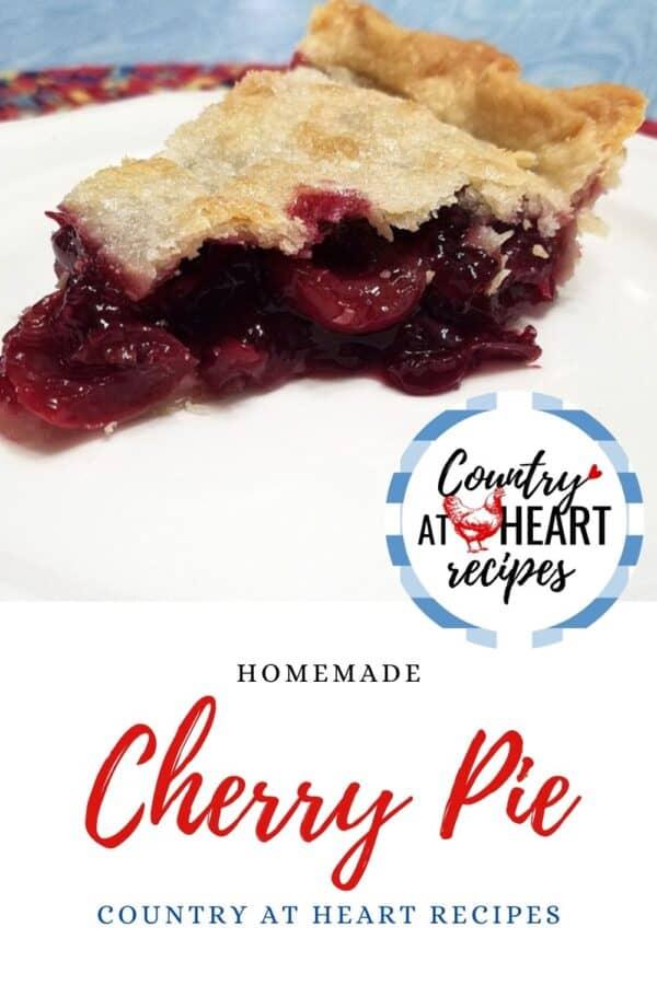 Pinterest Pin - Cherry Pie