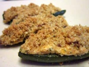 Recipe for Baked Jalapeno Poppers with Bacon