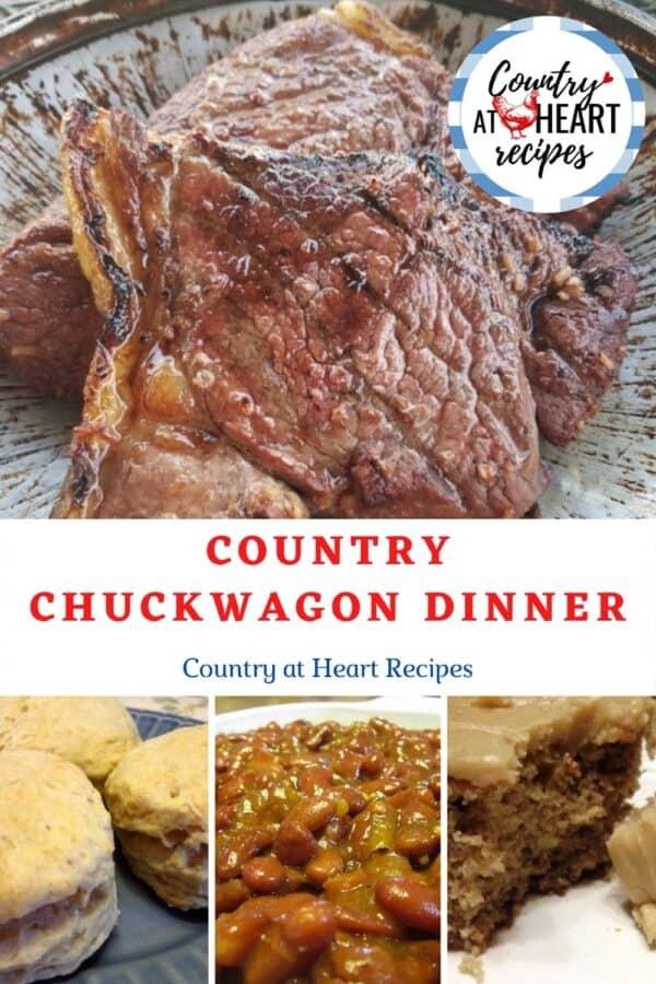 Pinterest Pin - Country Chuckwagon Dinner