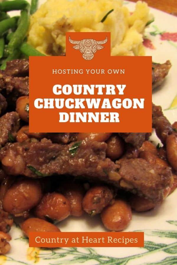 Pinterest Pin Country Chuckwagon Dinner