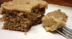chuckwagon dinner - spiced nut cake