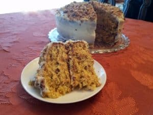 Recipe for Carrot Cake with Pecans