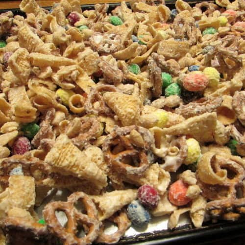Recipe for Christmas Reindeer Snack Mix