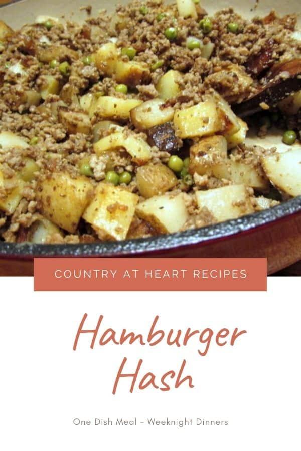 Pinterest Pin - Hamburger Hash