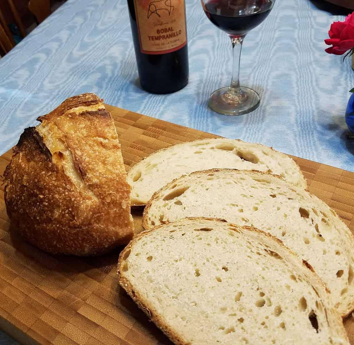 Tangy Sourdough Bread
