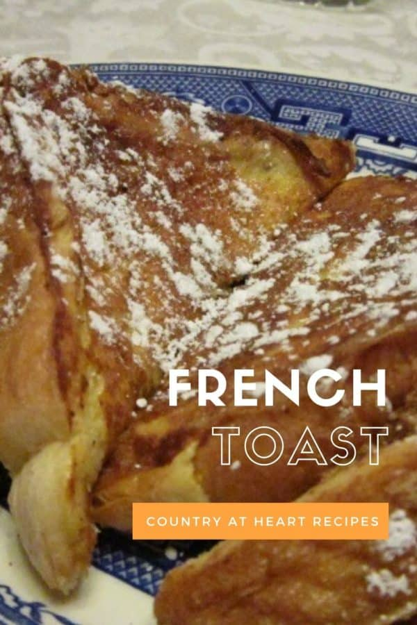 Pinterest Pin - French Toast