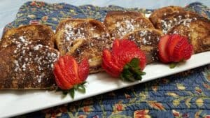 Serving French Toast