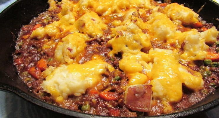 Cottage Skillet Pie with Stout