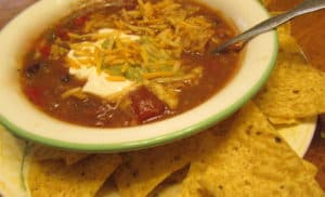 Recipe for Slow-Cooked Tortilla Chicken Soup