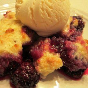 Recipe for Homemade Blackberry Cobbler