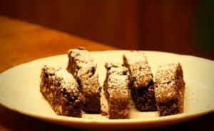 Recipe for Double Chocolate Biscotti with Almonds