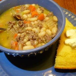 Recipe for Sausage Bean Soup